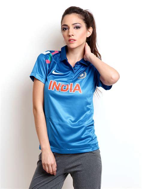 Shirts India Buy Nike Blue Odi India Cricket Tshirts Tshirts For