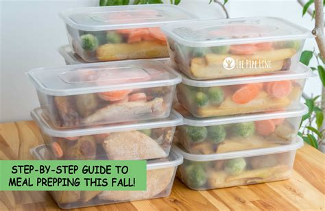 meal prep a step by step guide to preparing healthy weight loss lunch recipes for work or school using easy meal prep techniques to save time and money books the pipe line your step by step guide to meal prepping