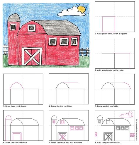 How To Draw A Barn country barn projects for