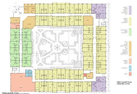 assisted living floor plan assisted living floor plans azar development llc