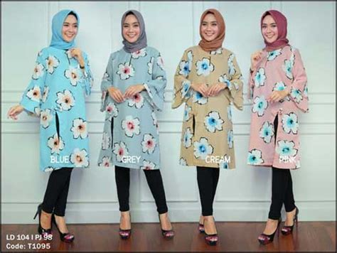 Distributor Busana Muslim distributor busana muslim trendy bahan rami