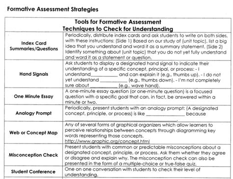 formative assessment strategies 1000 images about formative assessment on