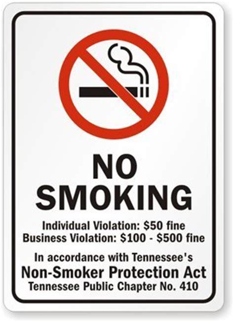 no smoking sign australia no smoking individual violation 50 fine business