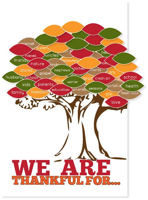 thankgiving tree free printable kiki company