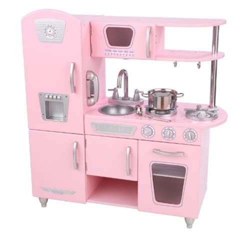 Kidkraft Vintage Kitchen Pink by Kidkraft Pink Vintage Retro Pretend Play Kitchen