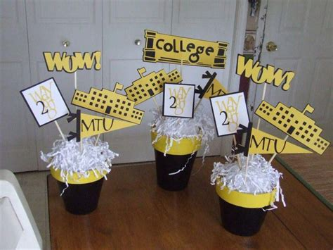 35 fascinating graduation centerpieces ideas table