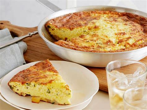 ina garten brunch recipes potato basil frittata recipe ina garten food network
