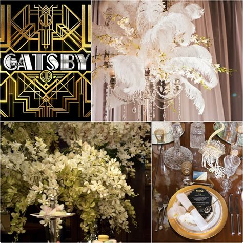 great gatsby themed decorations the great gatsby wedding decor theme gps decors