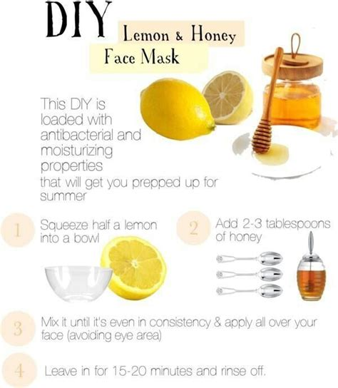 diy lemon and honey mask pictures photos and images for and