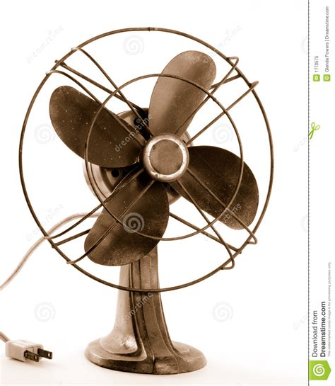 old fashioned electric fan vintage electric fan royalty free stock photo image 1770575