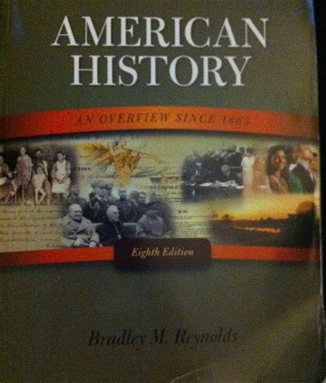 eighth edition books american history an overview since 1865 eighth edition