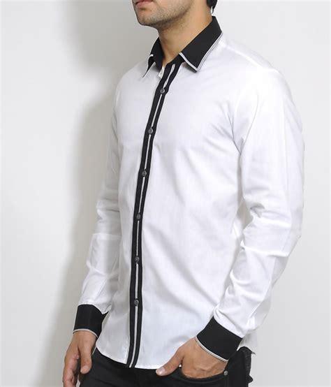 Black And White Shirt White Shirt With Black Artee Shirt