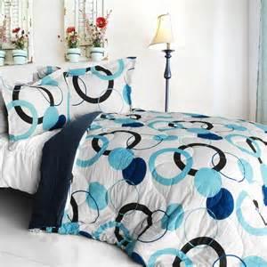 Dot teen girl bedding modern comforter or duvet set twin queen king