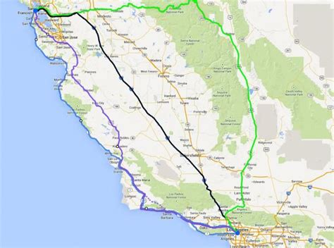 california map from san francisco to la 25 best ideas about los angeles area on los