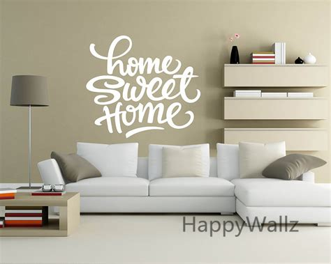 wall sticker colours and personalised decal fonts home sweet home family quote wall sticker decorating diy