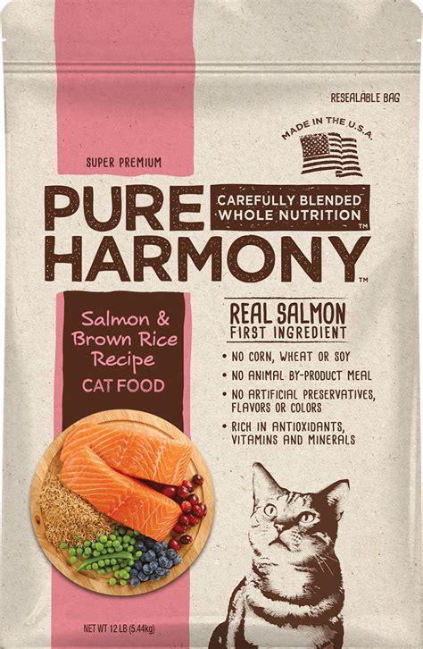 harmony food reviews harmony salmon brown rice recipe cat food review