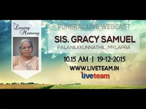 sis gracy samuel funeral home service