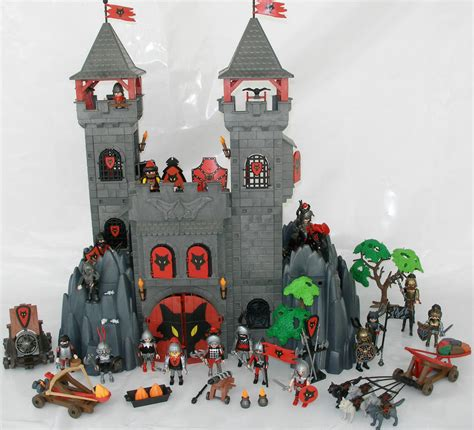 Rok Clna 1 playmobil wolf clan rock castle w 19 knights 5 wolves 2