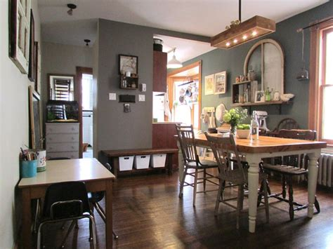 home decor houzz houzz dining room rustic urban farmhouse intended for