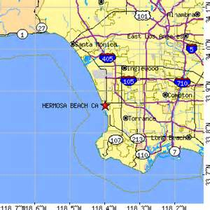 hermosa california map hermosa california ca population data races