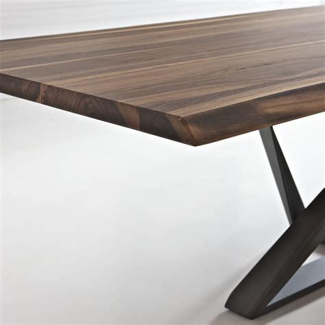 tavolo moderno in legno tavolo moderno in legno noce millennium arredaclick