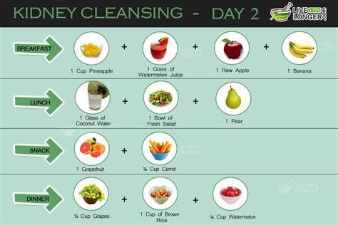 fruit 7 day cleanse kidney cleansing 7 day diet plan for detox