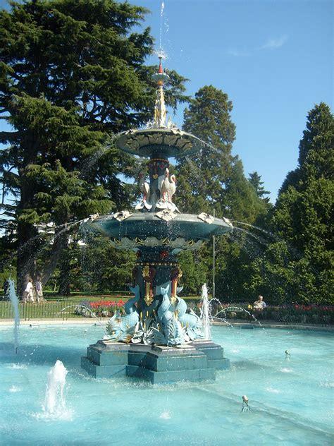 Botanic Gardens Christchurch Christchurch Botanic Gardens
