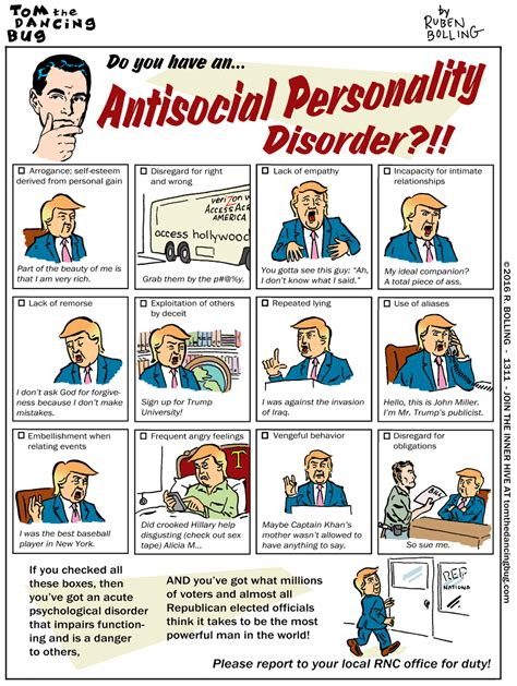 anti social personality disorder do you an antisocial personality disorder