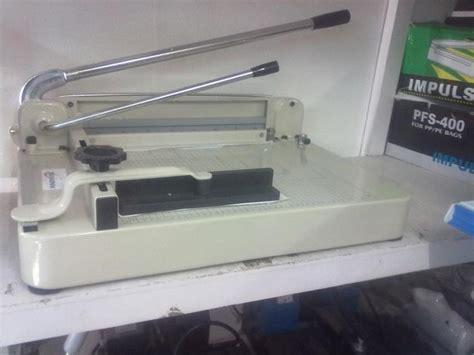 Mesin Fotocopy Mini Ukuran F4 jual mesin pemotong kertas 858 harga murah surabaya oleh