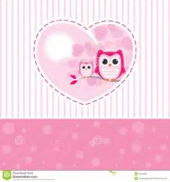 mom and baby owl stock vector image 52249833