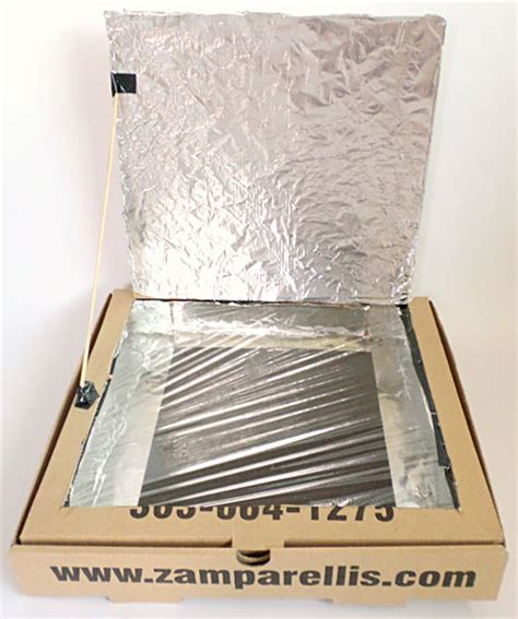 How To Make A Pizza Box Out Of Paper - home science activity build a pizza box solar oven