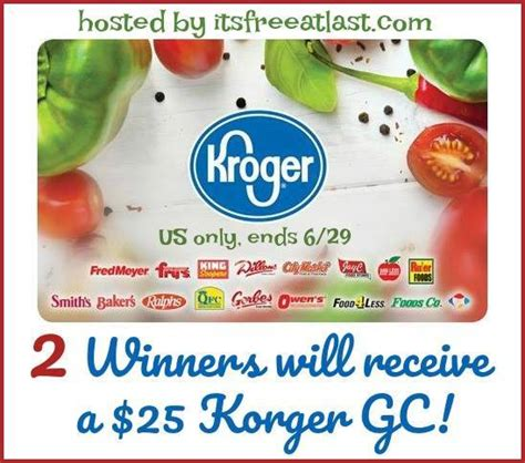 giveaway archives - Can You Return A Gift Card To Kroger