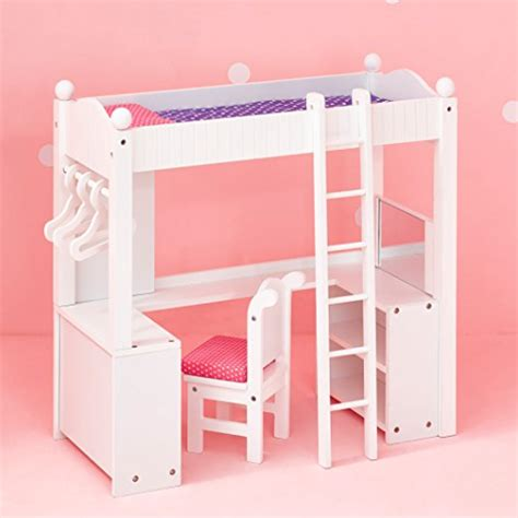 18 Doll Bunk Bed Lowest Price 18 Doll Bunk Bed With Desk Fits American Pincher