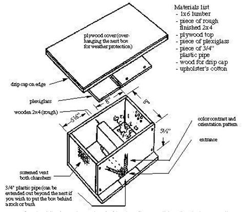 bumble bee house plans bumble bee box bumble bee nests 6 beekeeping pinterest bee boxes bees and boxes