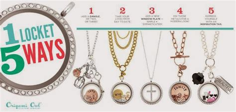 Where Is Origami Owl Located - origami owl one locket 5 ways origami owl at storied