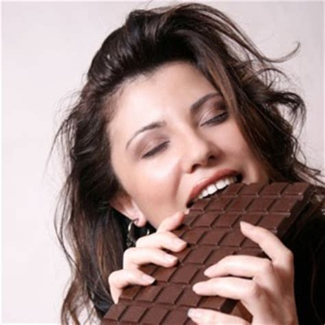 eat chocolate every day is a miracle laughing alone with salad