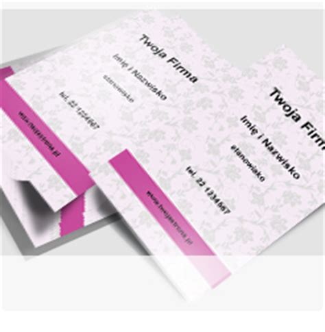dla business card template szablony wizyt 243 wek kosmetyczek gotowe projekty wizyt 243 wek