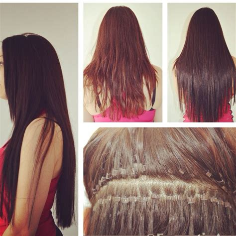 how to put in bead extensions 179 best images about hair extensions pieces on