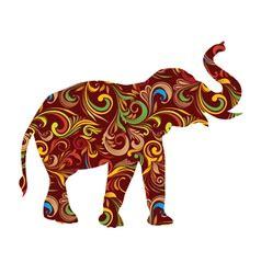 Mc Mosva Elephant Hitam royalty free vector images by gurita hitam 240