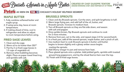 Sprouts Gift Card Survey - brussels sprouts in maple butter pete s fresh market