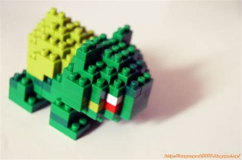 Nanoblock Bulbasaur my 1st nanoblock collection bulbasaur lego and