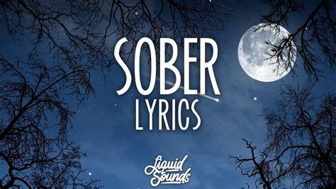 demi lovato sober lirik demi lovato sober lyrics lyric video youtube