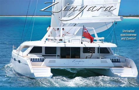catamaran sailing destinations luxury catamaran zingara yacht charters in the caribbean
