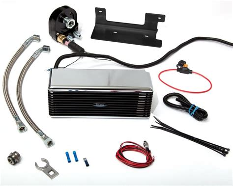 oil cooler with fan the reefer harley davidson oil cooler oil cooler kit