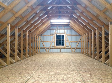 Pre Made Shed Trusses by Newly Constructed Pole Barn This Is The 32 X 12 X 9
