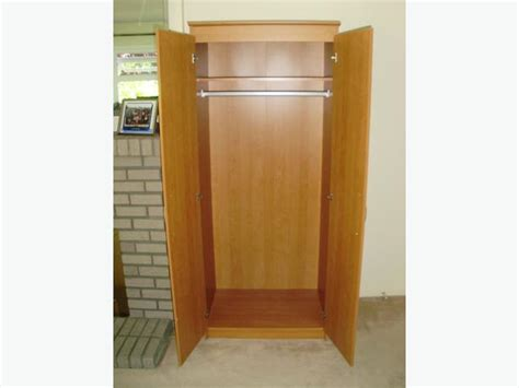 2 door wardrobe armoire stand alone closet