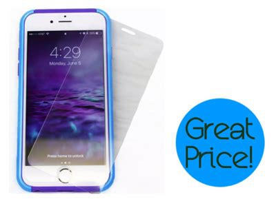 iphone tempered glass screen protector  shipped