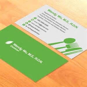 dietitian business cards business card design for a dietitian raymond yip web mobile designer based in hong kong