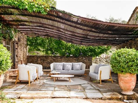 Sitzecke Garten Ideen