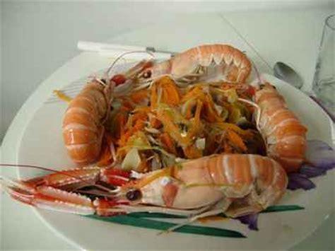 cuisiner les langoustines recette cuire les langoustines 750g